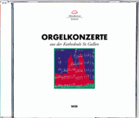 CD-Cover Orgelkonzerte